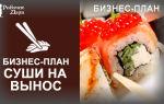 Как открыть суши-бар: бизнес-план, что нужно с расчетами