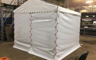 Производство палаток: оборудование + технология изготовления 2019