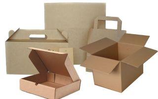 Производство коробок из картона и гофрокартона для упаковки товаров