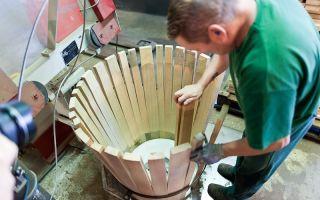 Производство бочек из дуба и технология изготовления — как делают