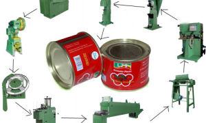 Производство консервных банок: оборудование + технология как делают