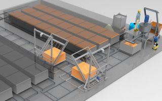 Производство пеноблоков: оборудование и технология изготовления