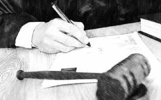 Обзор вопроса о регулировании увольнения по решению суда работника на основании преступления