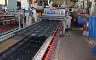 Производство металлочерепицы как бизнес 2020