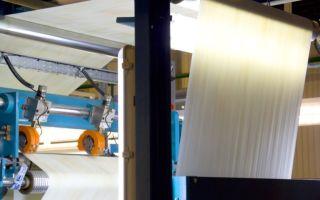 Производство обоев: оборудование + технология изготовления 2019