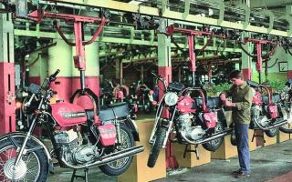 Производство мотоциклов и технология как делают