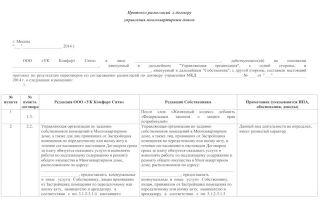Образец протокола разногласий к договору оказания услуг — особенности оформления