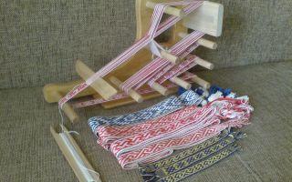 Производство ленты — как делают (плетут) на станке