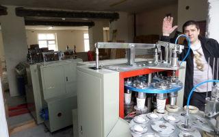 Производство одноразовой пластиковой посуды: оборудование + технология изготовления 2019