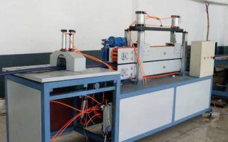 Производство плинтусов как бизнес: оборудование + технология 2019
