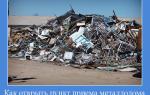 Как открыть пункт приема металлолома с нуля в 2020 году