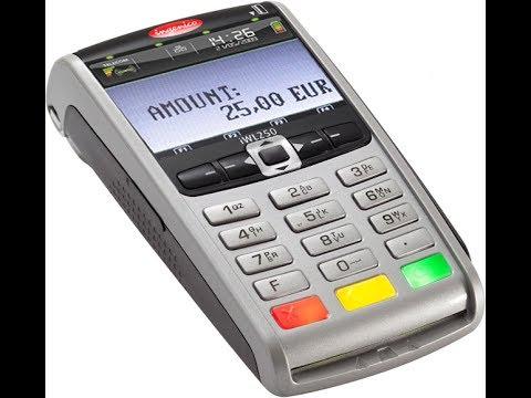 Основные правила пользования банковским терминалом