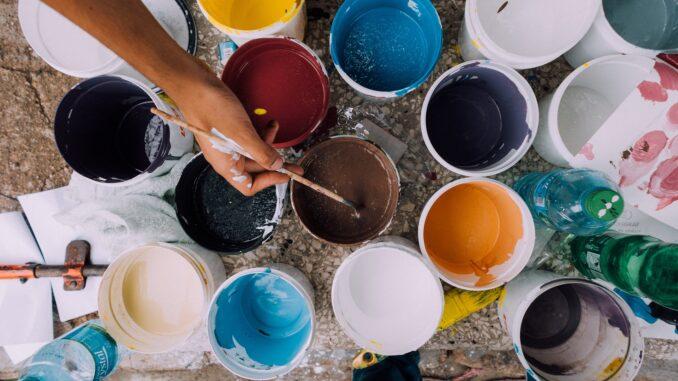 Бизнес по производству акриловой краски