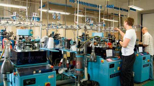 Производство носков: оборудование, станок, линия, машина, технология, бизнес план