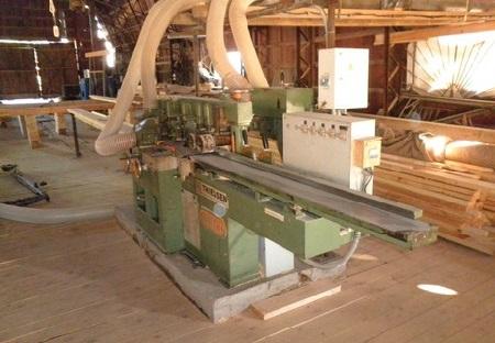Станки деревообрабатывающие для изготовления вагонки