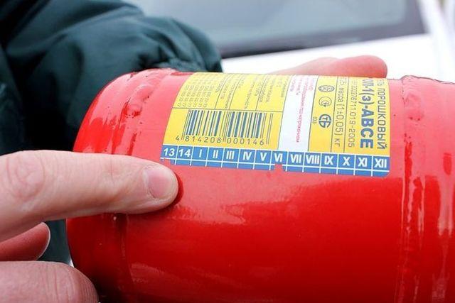 Журнал по контролю состояния первичных средств пожаротушения