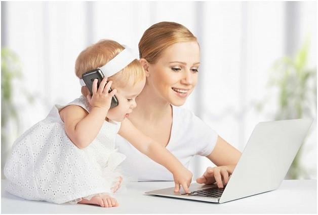 Работа для женщин в декретном отпуске: варианты, возможности