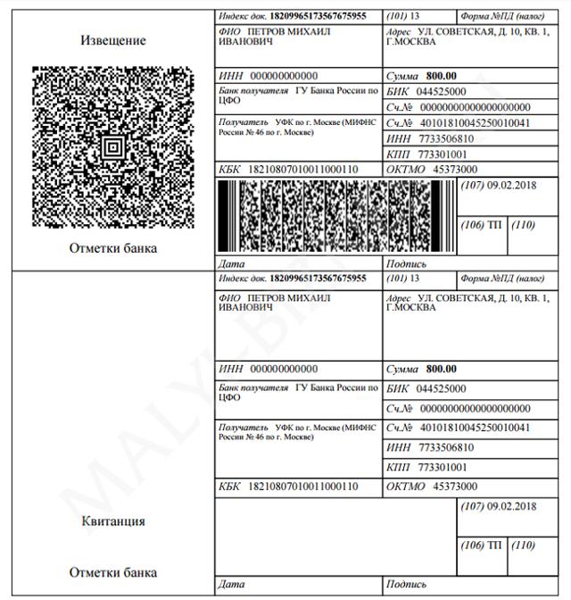 Как сформировать квитанцию на оплату госпошлины - правила оформления бланка, способы оплаты